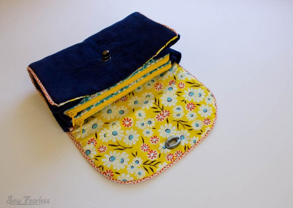 Sewing Summit Secret Swap - clutch