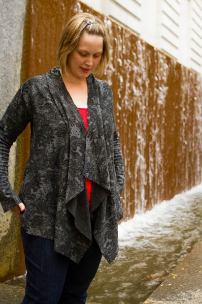 Infinity Sweater by OneGirlCircus.com- Sewn by SewFearless.com