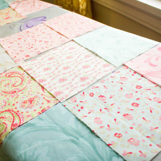 The Rose Quilt – 9 Patches