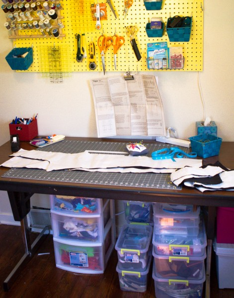 The Sew Fearless Sewing Room Tour