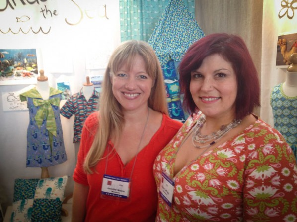 Karen LePage and Jennifer Moore of MonaLuna