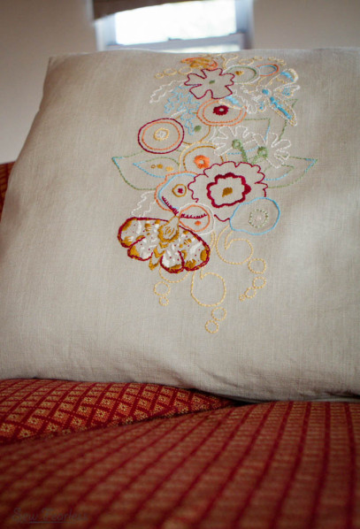 Alison Glass Embroidery Design - sewn by sew fearless.com