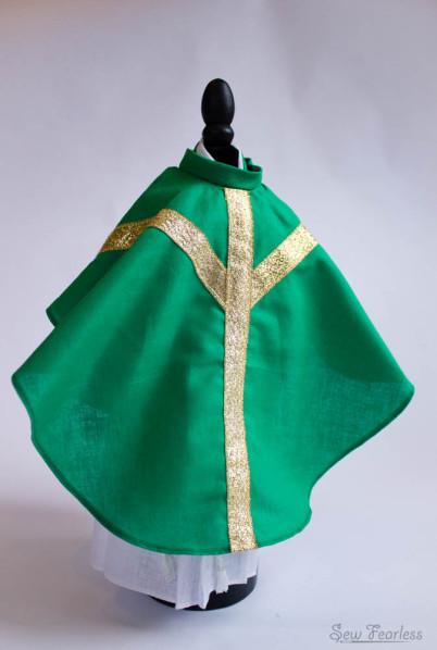 Chasuble - Miniature Catholic Priest Vestments