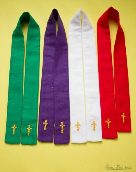 Stoles - Miniature Catholic Priest Vestments