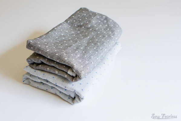 Double Gauze Baby Swaddle Blankets sewn by SewFearless.com