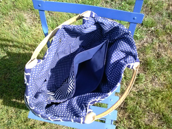 The Better-Than-Basic Bag Pattern by SewFearless.com, photo by Abbey R.