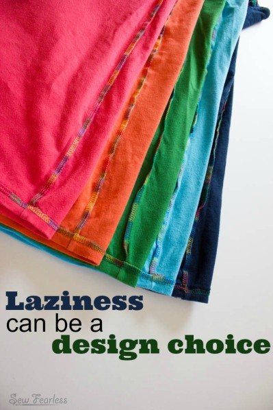 Laziness can be a design choice.