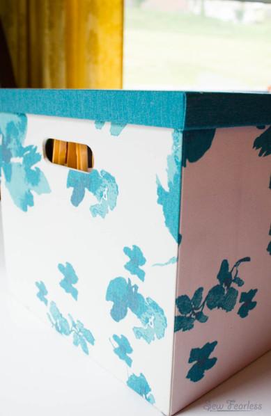 Organized Storage of Sewing Patterns