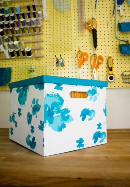 Organized Storage of Sewing Patterns