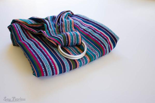 DIY jacquard ring sling