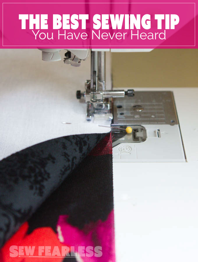 The Best Sewing Tip You Have Never Heard of