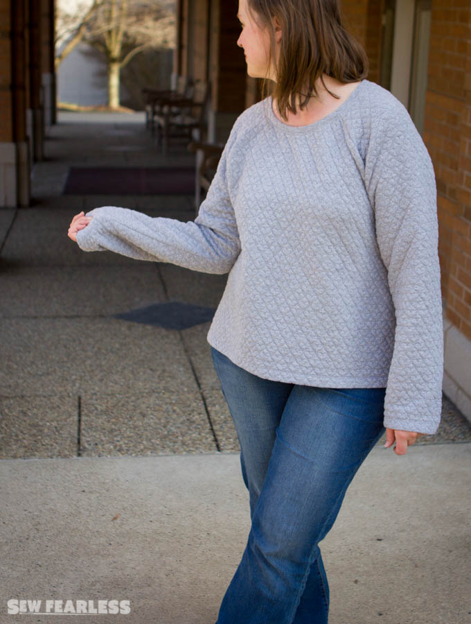 Quilted Jersey Linden by Sew Fearless