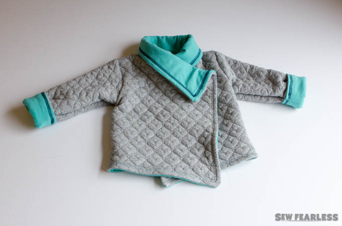 Baby Girl Layette sewn by Sew Fearless