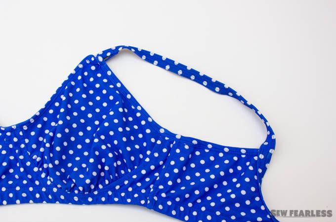 swim suit set - skinny binding finish
